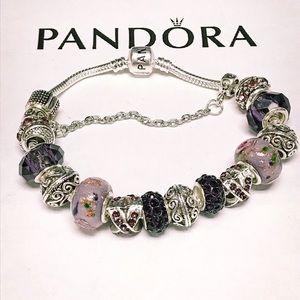 Tuesday sale only pandora charm bracelet